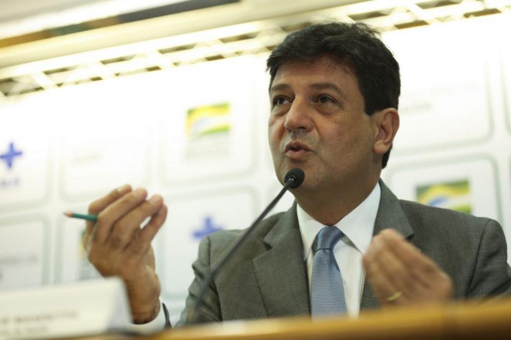 Ministro da Saúde Luiz Henrique Mandetta Foto: José Cruz/Agência Brasil