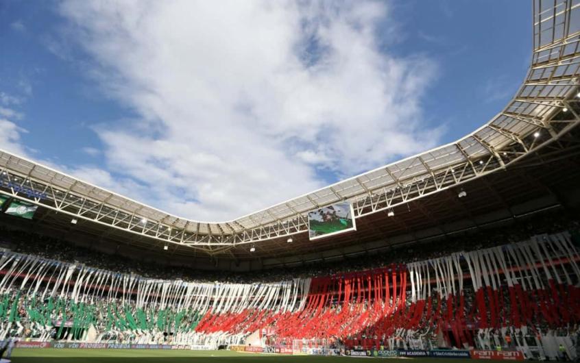 Os palmeirenses serão torcida única neste domingo, contra o Flamengo, no Allianz - Foto: Cesar Greco/Agência Palmeiras