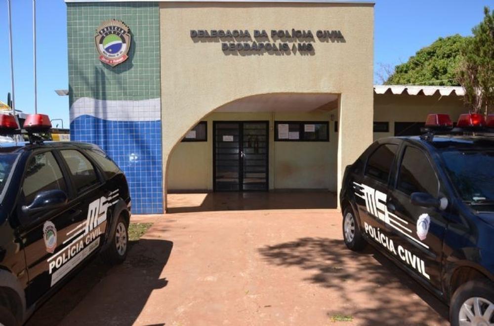 Idosa morre engasgada com pedaço de carne em MS. Caso foi registrado na delegacia de Deodápolis (MS). — Foto: MS News