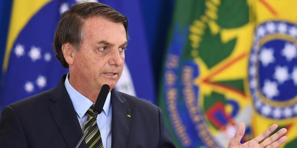 Bolsonaro retirou manchas na pele - Foto: Evaristo Sá/AFP/CP
