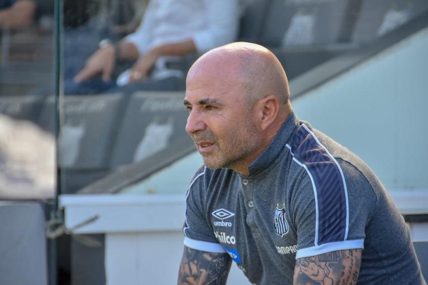 Jorge Sampaoli ficou de responder a proposta formalizada pelo Palmeiras - Foto: Jota Erre/Photo Premium/Lancepress!