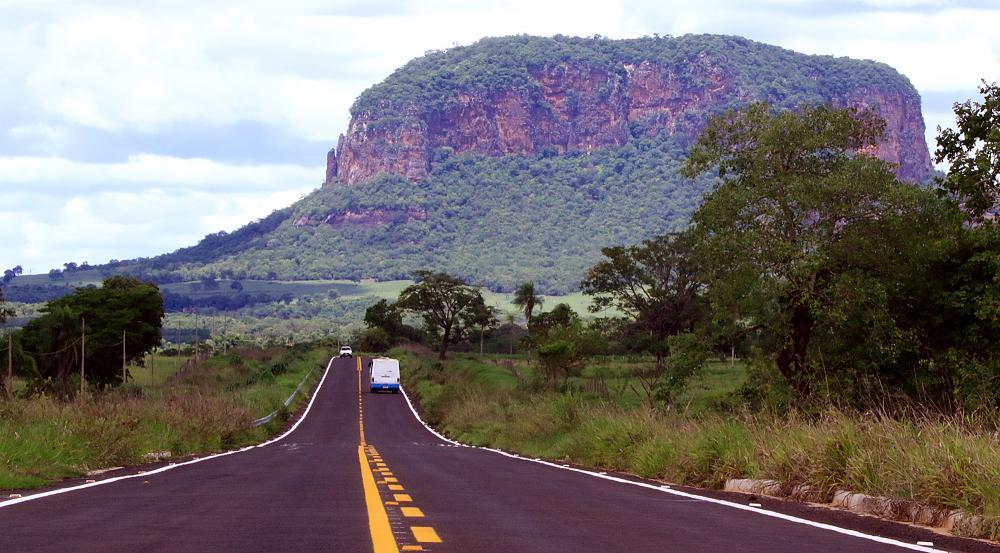 Estrada Parque em Aquidauana