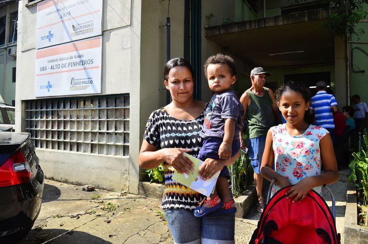 Em São Paulo, algumas unidades de saúde tinham disponibilidade da pentavalente e da DTP - Arquivo/Agência Brasil