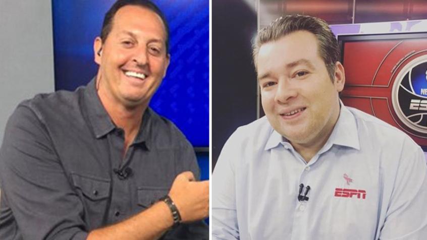 Benja e Rômulo Mendonça são alguns nomes importantes da Fox Sports e ESPN Brasil, respectivamente - Foto: Reprodução