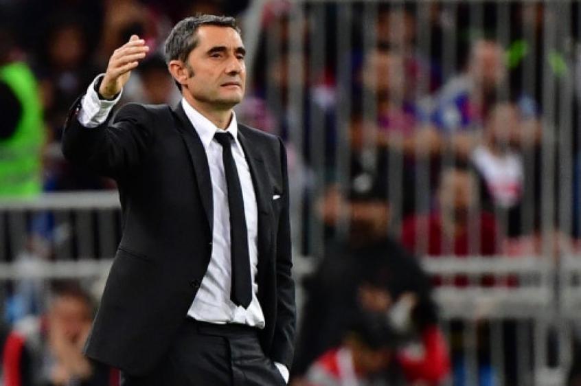 Ernesto Valverde deixa o Barcelona com mais de 70% de aproveitamento e quatro títulos - Foto: AFP
