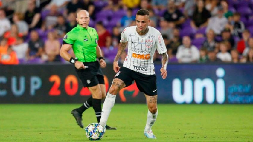 Luan marcou os dois gols da vitória do Corinthians na Florida Cup - Foto: Divulgação Florida Cup/ Rafael Ribeiro