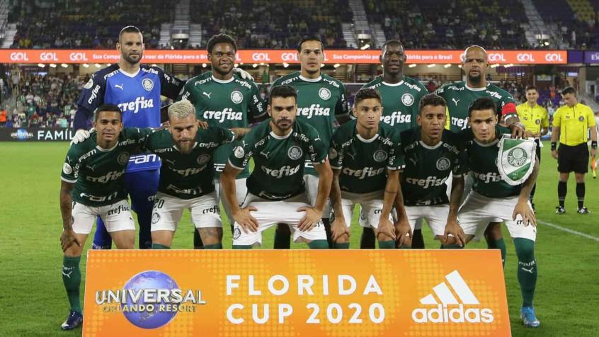 Palmeiras empatou no tempo normal, mas venceu nas penalidades na estreia da Florida Cup - Foto: Cesar Greco