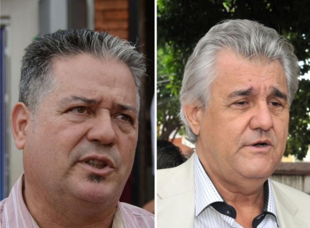 Amilton de Oliveira (à esquerda) e Dirceu Peters (à direita) foram secretários na gestão de Alcides Bernal - Foto: Foto: Montagem/Arquivo/Correio do Estado
