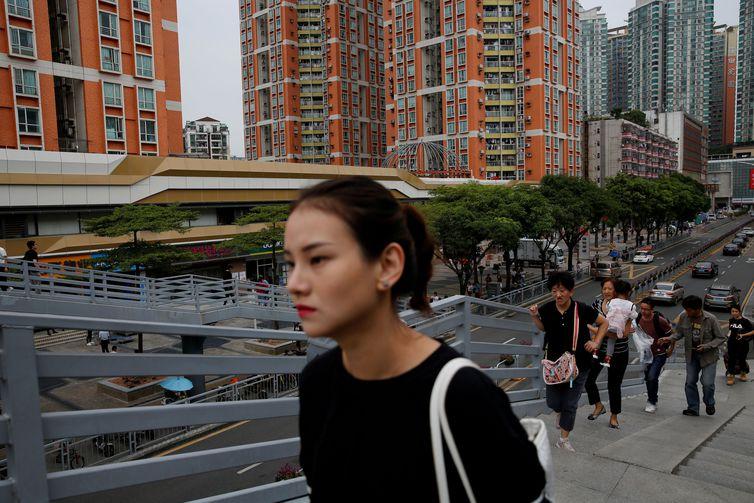 Casos de coronavírus preocupam população da China e de outros países Tyrone Siu/Reuters/direitos reservados