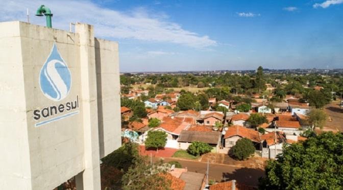 Sanesul investe na ampliação do sistema de abastecimento de água em Maracaju