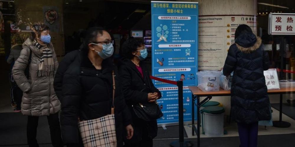Coronavírus já causou nove mortes e fez primeiro caso nos Estados Unidos - Foto: Hector Retamal/AFP/CP