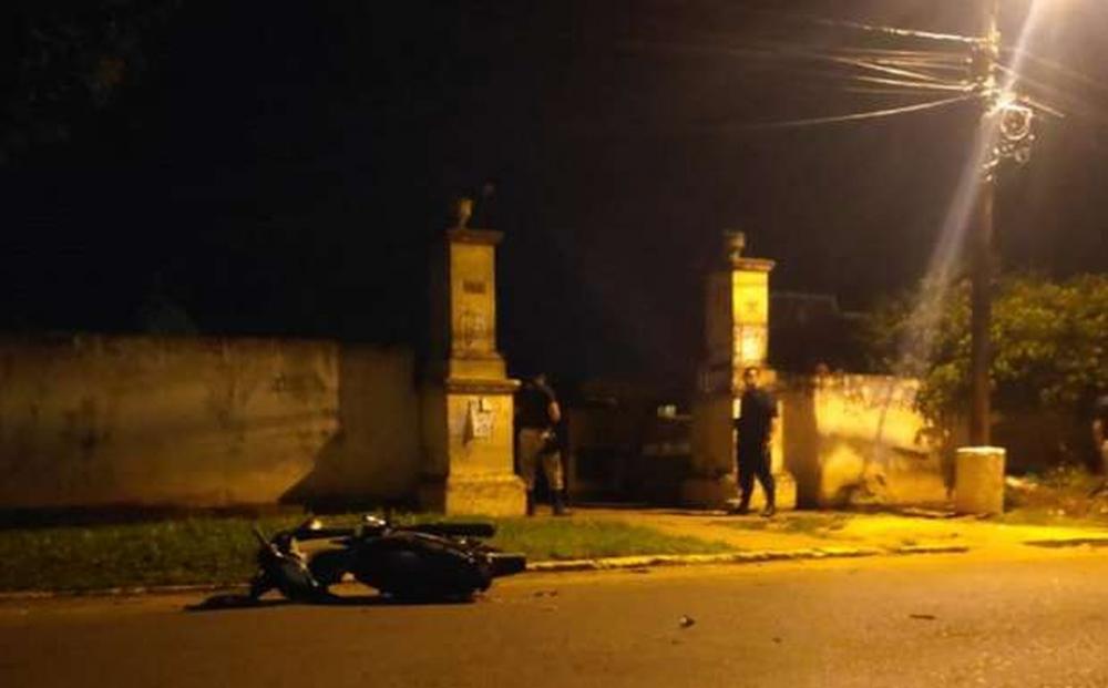 Aniversariante e amigo são executados por pistoleiros na fronteira do Brasil com Paraguai. — Foto: Última Hora PJC