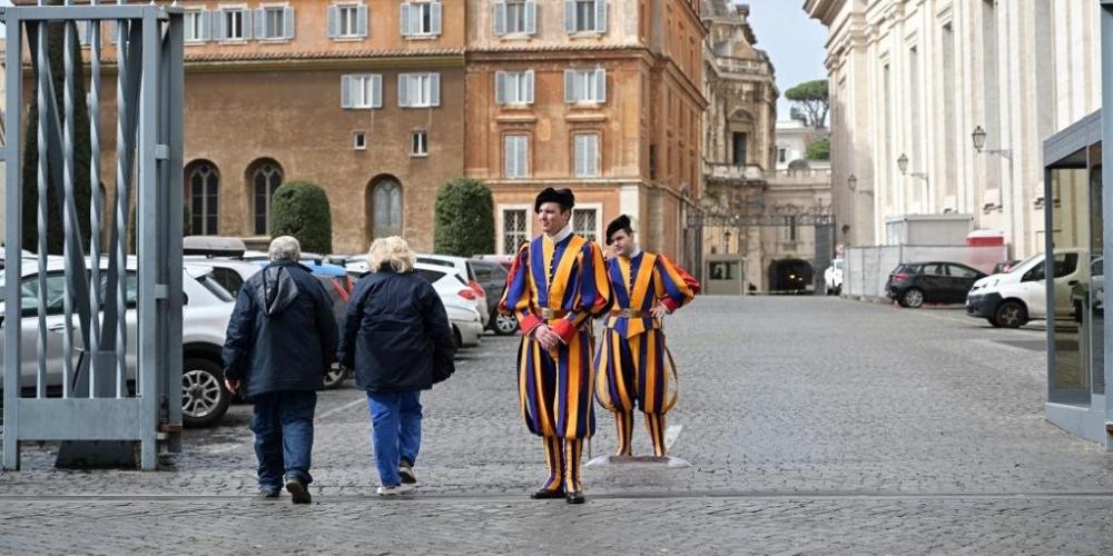 Vaticano anunciou o primeiro caso de coronavírus - Foto: Vincenzo Pinto