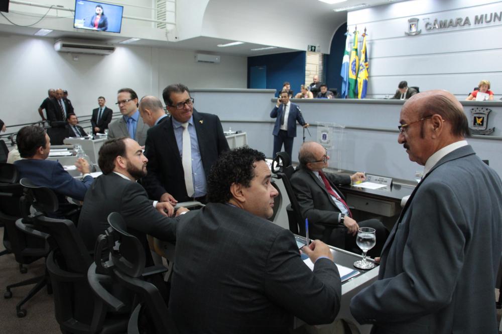 Plenário da Câmara Municipal de Campo Grande - Foto: Izaias Medeiros