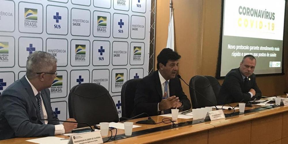 Dados foram divulgados durante coletiva de imprensa do Ministério da Saúde nesta quinta-feira | Foto: Ministério da Saúde / Divulgação / CP