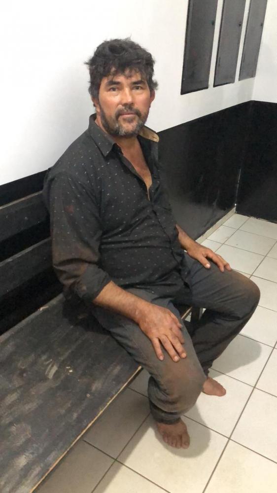Capataz foragido se entregou à polícia de MS no dia 12 de março. — Foto: Sejusp/Divulgação
