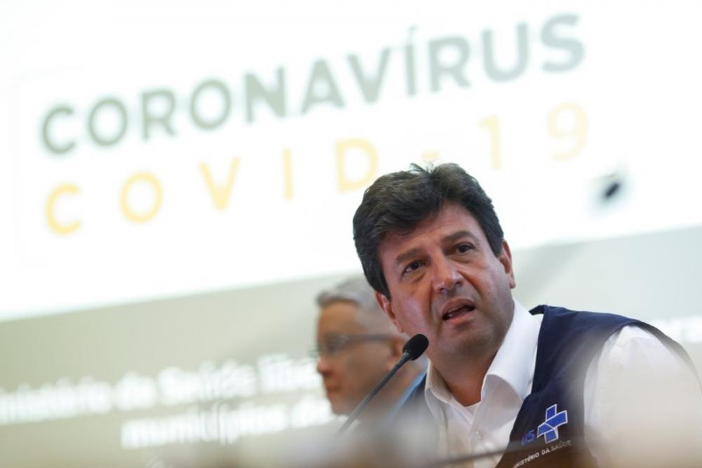 Ministro da Saúde, Luiz Henrique Mandetta — Foto: REUTERS/Adriano Machado