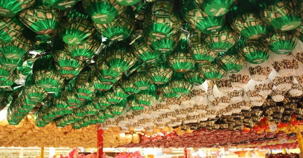 Preço dos ovos de Páscoa tem variação de mais de 100% em Campo Grande — Foto: Procon/Divulgação