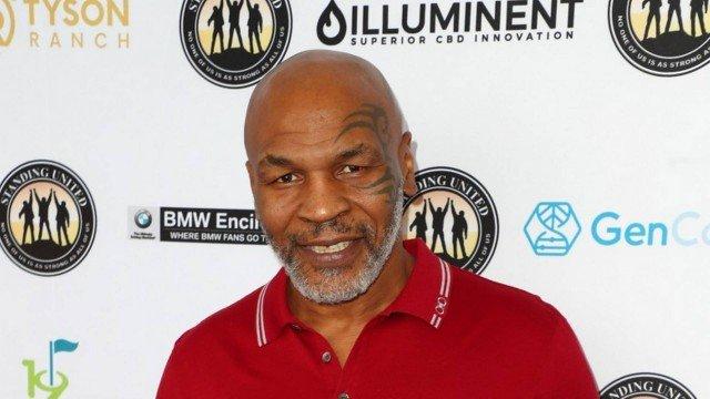 O ex-boxeador Mike Tyson - Foto: Joe Scarnici/STR