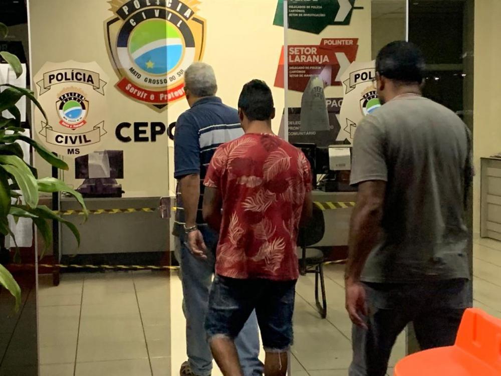 Ex-marido da estudante foi preso neste sábado (25) em Campo Grande — Foto: Alexandre Cabral/TV Morena