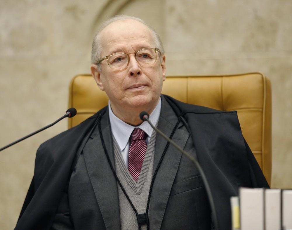 O ministro Celso de Mello, do Supremo Tribunal Federal (STF) — Foto: Rosinei Coutinho/SCO/STF