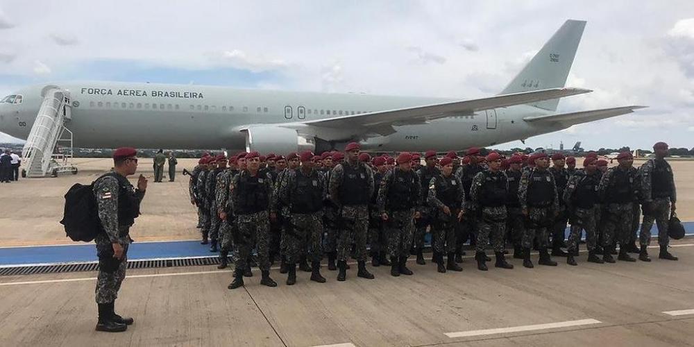 Governo discutirá hoje se empregará Força Nacional em manifestações de domingo