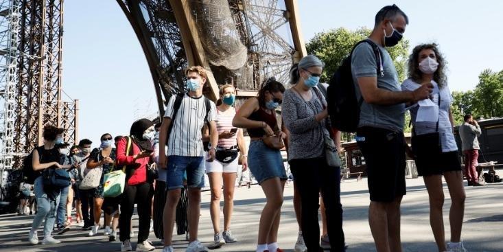 Torre Eiffel volta a receber visitantes após três meses - Foto: Thomas Samson/AFP