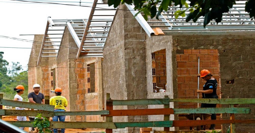 Habitação Chácara Água Bonita Foto: Saul Schramm